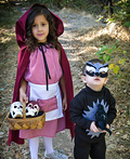 Little Red Riding Hood & Wolf Costume