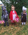 Little Red Riding Hood, The Big Bad Wolf & Granny Costume