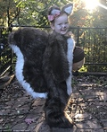 Little Squirrel Girl Costume