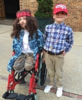 Lt. Dan and Forrest Costume
