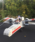 Luke Skywalker and R2-D2 X-Wing Starfighter Costume