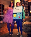 Lumpy Space Princess and BMO Costume