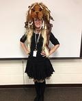 Luna Lovegood's Lion Hat Costume