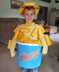 Mac n Cheese Costume