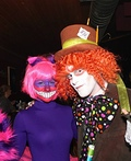 Mad Hatter and Cheshire Cat Costume
