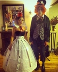 Mad Hatter & Queen of Hearts Costume