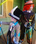 Mad Hatter & Crazy Rabbit Costume