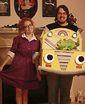 Magic School Bus and Miss Frizzle Costume