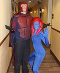 Magneto and Mystique from X-Men Costume