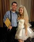 Mail Order Bride and Postal Worker Costume