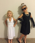 Marilyn & Audrey Costume