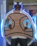 Mario Kart Blue Turtle Shell Costume