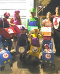 Mario Kart Halloween Style Costume