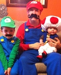 Mario, Luigi and Toad Costume
