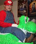 Mario & Yoshi Costume