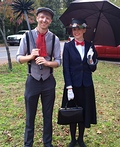 Mary Poppins & the Chimney Sweep Costume