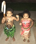 Maui and Moana Costume