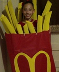 McDonald's Fries Costume