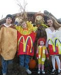 McDonalds's Crew Costume