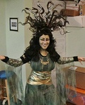 Medusa Queen Costume