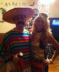 Mexican and his Tequila Bottle Costume