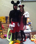 Mickey and Minnie Costume