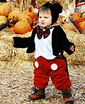 Mickey at the Pumpkin Patch Costume