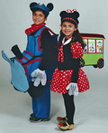 Mickey & Minnie Train Set Costume