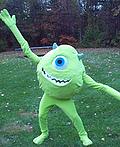 Mike Wazowski Costume