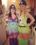 Mike and Sully from Monsters Inc. Costume