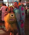 Mike Wazowski and Sulley Costume