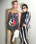 Miley Cyrus & Robin Thicke Costume