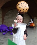 Milk and Cookies Costume