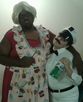 Milk Man and Housewife Costume