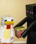 Minecraft Family Costume