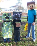 Minecraft Creatures Costume