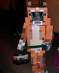 Minecraft inspired Stampy Costume