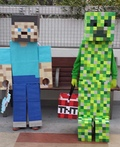 Minecraft Steve & Creeper Costume