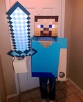 Steve from Minecraft Costume