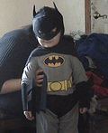 Mini Batman Costume