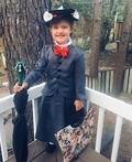 Miniature Mary Poppins Costume