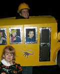 Miss Frizzle and Magic School Bus Costume