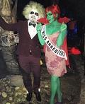 Miss.Argentina & Beetlejuice Costume