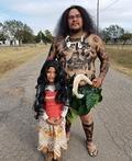 Moana and Maui Costume