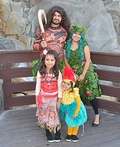 Moana Theme Costume