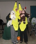 Monkey and a Bunch of Bananas Costume