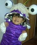 Monsters Inc Boo Costume