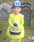 Monsters Inc. Mike Wazowski Costume