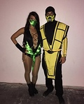 Jade and Scorpion Mortal Kombat Costume