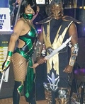 Mortal Kombat Jade & Scorpion Costume